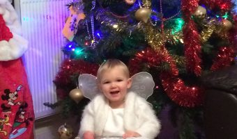 Holly is our Christmas Angel!