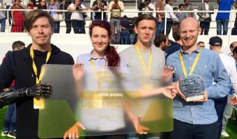 Fantastic news for our friends at Open Bionics