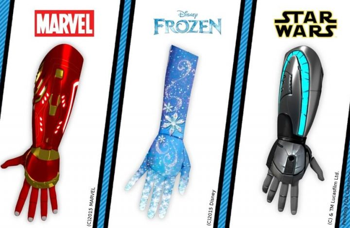 Open Bionics talk about 3D printed prosthetics, turning kids into superheroes..