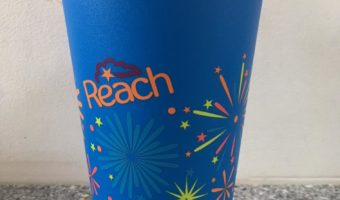 Reusable cups to celebrate our 40th Year
